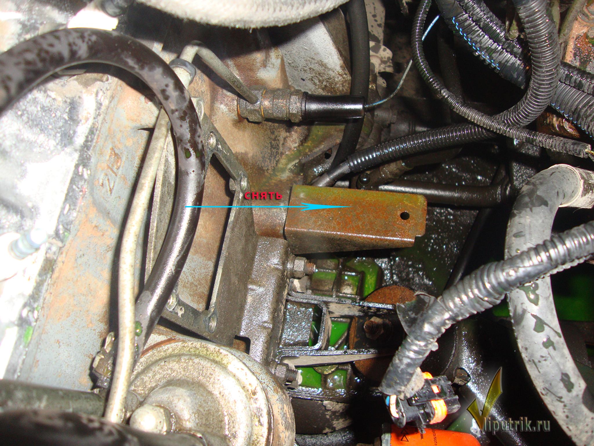 установка электроподогревателя hyundai hd68 северс-м
