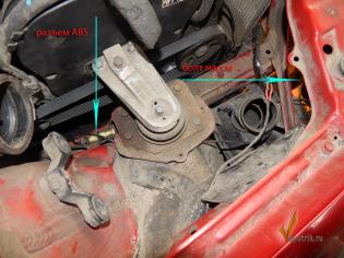 Chevrolet Lacetti  проблемы со светом_abs