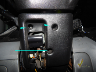 Chevrolet Lacetti  проблемы со светом_кожух_руля