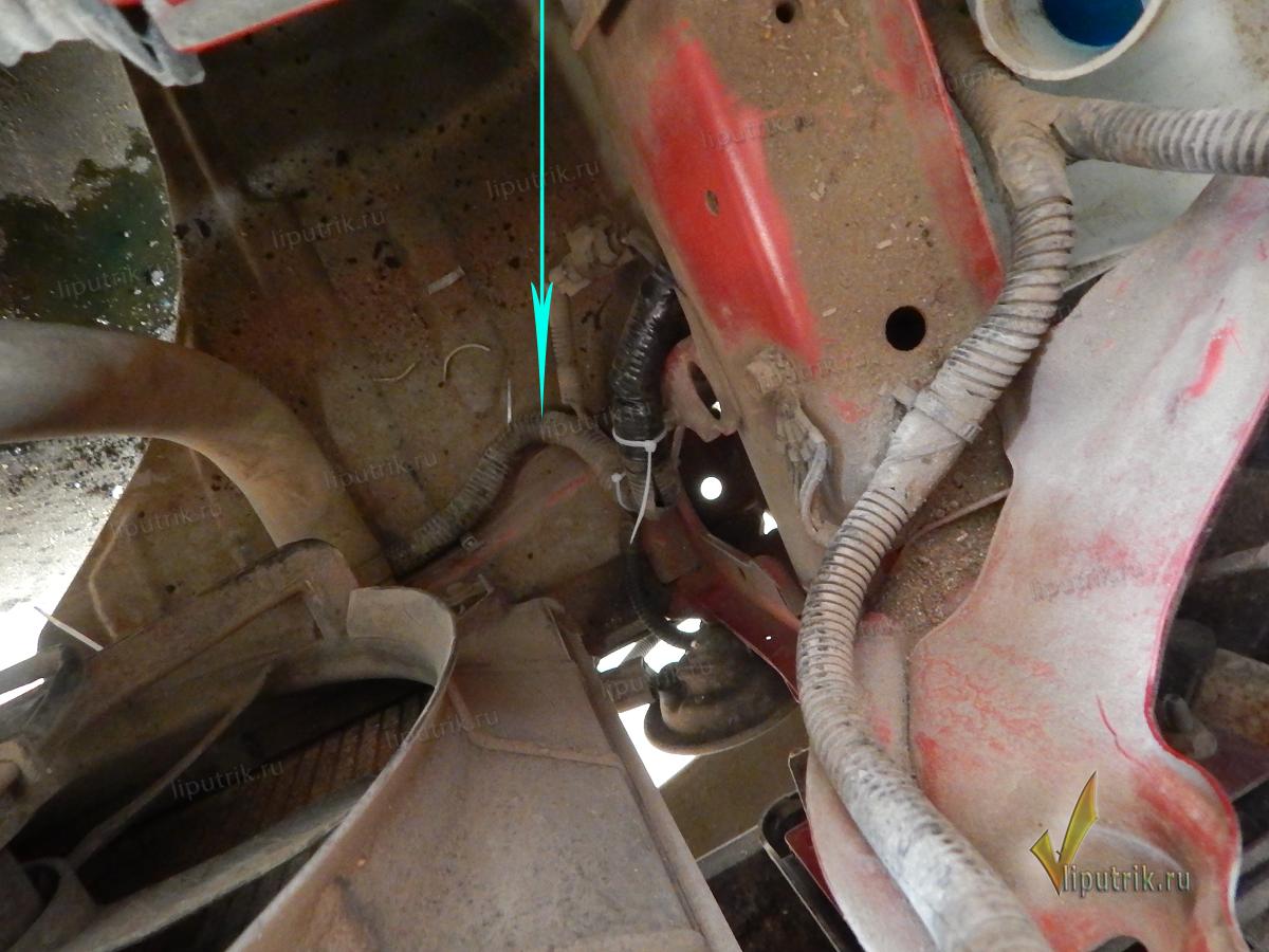электрическая схема фары шевроле лачетти седан