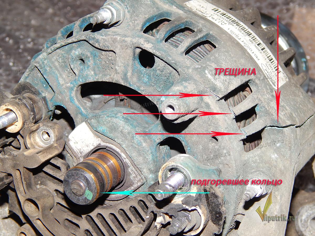 Ремонт генератора форд мондео 3 своими руками видео 60