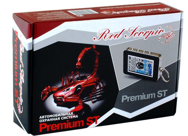 Red Scorpio Premium ST