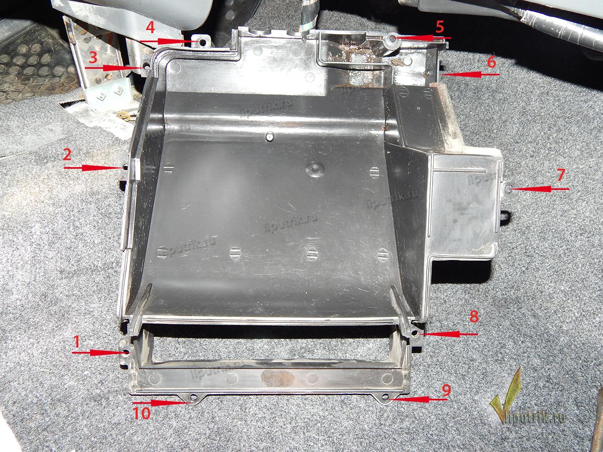 схема отопителя салона ланос